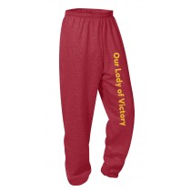 OLV Spirit Sweat Pants w/Logo - Please Allow 2-3 Weeks for Delivery