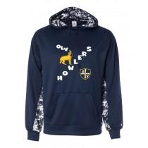 OLV Spirit Digital Color Block Hoodie w/ Howler Logo - Please Allow 2-3 Weeks for Delivery