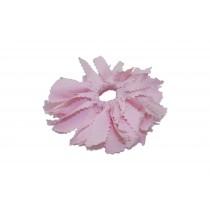 Light Blue or Pink Pom Pom Hair Tie