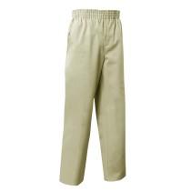 Pull-On Khaki Dress Pants