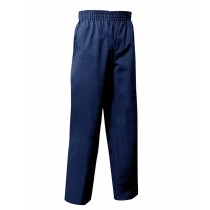 Pull-On Dark Navy Dress Pants