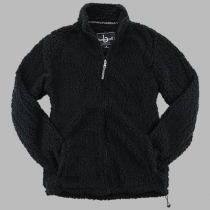 SHGS Black Sherpa Jacket w/ Logo - Please Allow 2-3 Weeks for Delivery