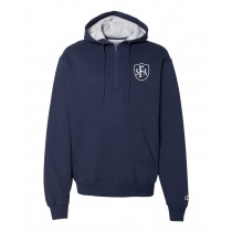 SFA Champion Hooded Quarter Zip w/Logo - Please Allow 2-3 Weeks For Delivery