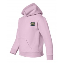 SES Pink Spirit Pullover Hoodie w/Logo - Please Allow 2-3 Weeks for Delivery