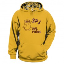 "SPJ Owl Pride ""Minecraft"" Hoodie w/ Logo  - Please Allow 2-3 Weeks for Delivery"