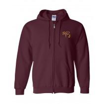 SPJ Spirit Zipper Hoodie w/ Logo - Please Allow 2-3 Weeks for Delivery