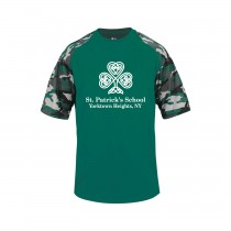 SPS Spirit S/S Camo T-Shirt w/ Full Front White Logo - Please Allow 2-3 Weeks for Delivery
