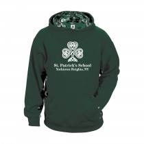 SPS Spirit Digital Color Block Hoodie w/ Full Front Logo - Please Allow 2-3 Weeks for Delivery