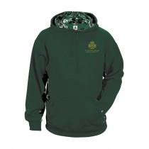 SPS Spirit Digital Color Block Hoodie w/ Left Crest Logo - Please Allow 2-3 Weeks for Delivery