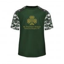 SPS Spirit S/S Digital Camo T-Shirt w/ Full Front Logo - Please Allow 2-3 Weeks for Delivery