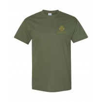 SPS S/S Spirit T-Shirt w/ Left Crest Gold Logo - Please Allow 2-3 Weeks for Delivery
