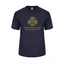 SPS S/S Spirit Performance T-Shirt w/ Full Front Gold Logo - Please Allow 2-3 Weeks for Delivery