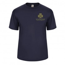 SPS S/S Spirit Performance T-Shirt w/ Left Crest Gold Logo - Please Allow 2-3 Weeks for Delivery