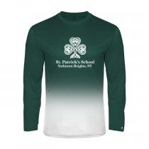 SPS Ombre L/S Spirit T-Shirt w/ Full Front Logo - Please Allow 2-3 Weeks for Delivery
