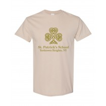 SPS S/S Spirit T-Shirt w/ Full Front Gold Logo - Please Allow 2-3 Weeks for Delivery