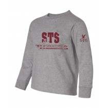 STS L/S Strong Spirit T-Shirt w/ Maroon Logo - Please Allow 2-3 Weeks for Delivery