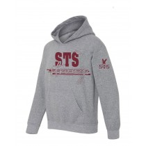 STS Spirit Strong Pullover Hoodie w/ Maroon Logo - Please allow 2-3 Weeks for Delivery