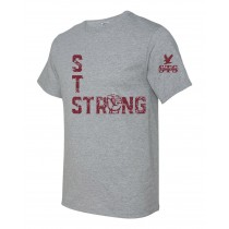 STS Fist S/S Spirit T-Shirt w/ Maroon Logo - Please Allow 2-3 Weeks for Delivery