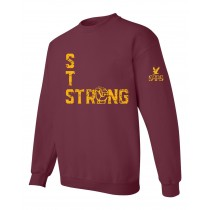 STS Strong L/S Fist Spirit T-Shirt w/ Gold Logo - Please Allow 2-3 Weeks for Delivery