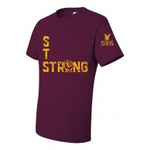 STS Fist S/S Spirit T-Shirt w/ Gold Logo - Please Allow 2-3 Weeks for Delivery