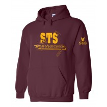 STS Spirit Strong Pullover Hoodie w/ Gold Logo - Please allow 2-3 Weeks for Delivery