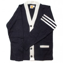 HFS Varsity 2-Pocket Cardigan w/ Logo (8th Grade Only) - Please Allow 6-8 Weeks for Delivery