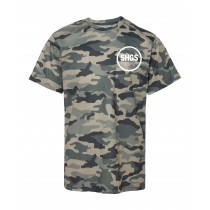 SHGS S/S Camo Spirit T-Shirt w/ White Logo - Please Allow 2-3 Weeks for Delivery